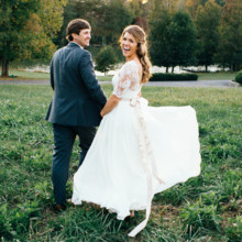 <strong class='info-row'>Erin Morrison Photography</strong> <div class='info-row description'><html>  <head></head>  <body>    Hunter proposed in April 2015 while he and Kathryn were hiking along the Tennessee River near west Knoxville. As Kathryn was taking in the scenery at an overlook, Hunter called her name and she looked over to find him down on one knee. The rest is history!  Venue: Tuckaway Cove   </body> </html></div>