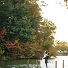 """<strong class='info-row'>Erin Morrison Photography</strong> <div class='info-row description'><html>  <head></head>  <body>    The fall foliage made for one seriously stunning backdrop.  Venue: Tuckaway Cove  Bride's Gown:   <a href=""""https://www.weddingwire.com/reviews/sarah-seven-san-francisco/a18db1e5e4af988f.html"""" target=""""_blank"""">Sarah Seven</a>from   <a href=""""https://www.weddingwire.com/biz/the-dress-theory-seattle/eacb4ac349379587.html"""" target=""""_blank"""">The Dress Theory</a>   </body> </html></div>"""