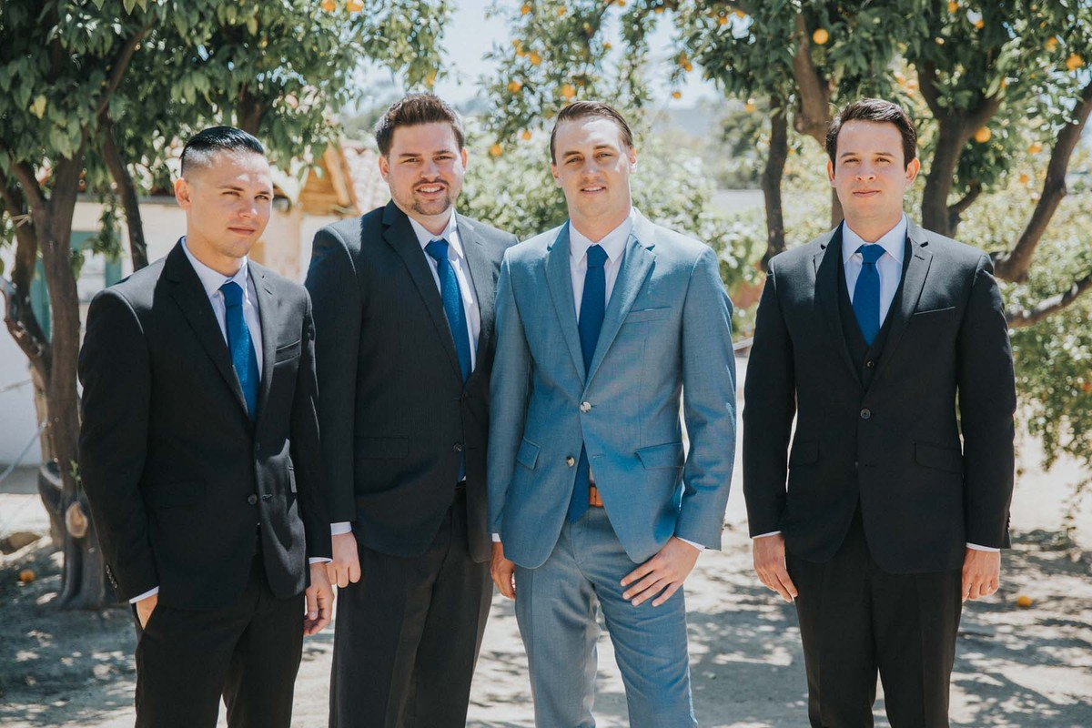 Relaxed California Summer Wedding, Wedding Real Weddings Gallery by ...