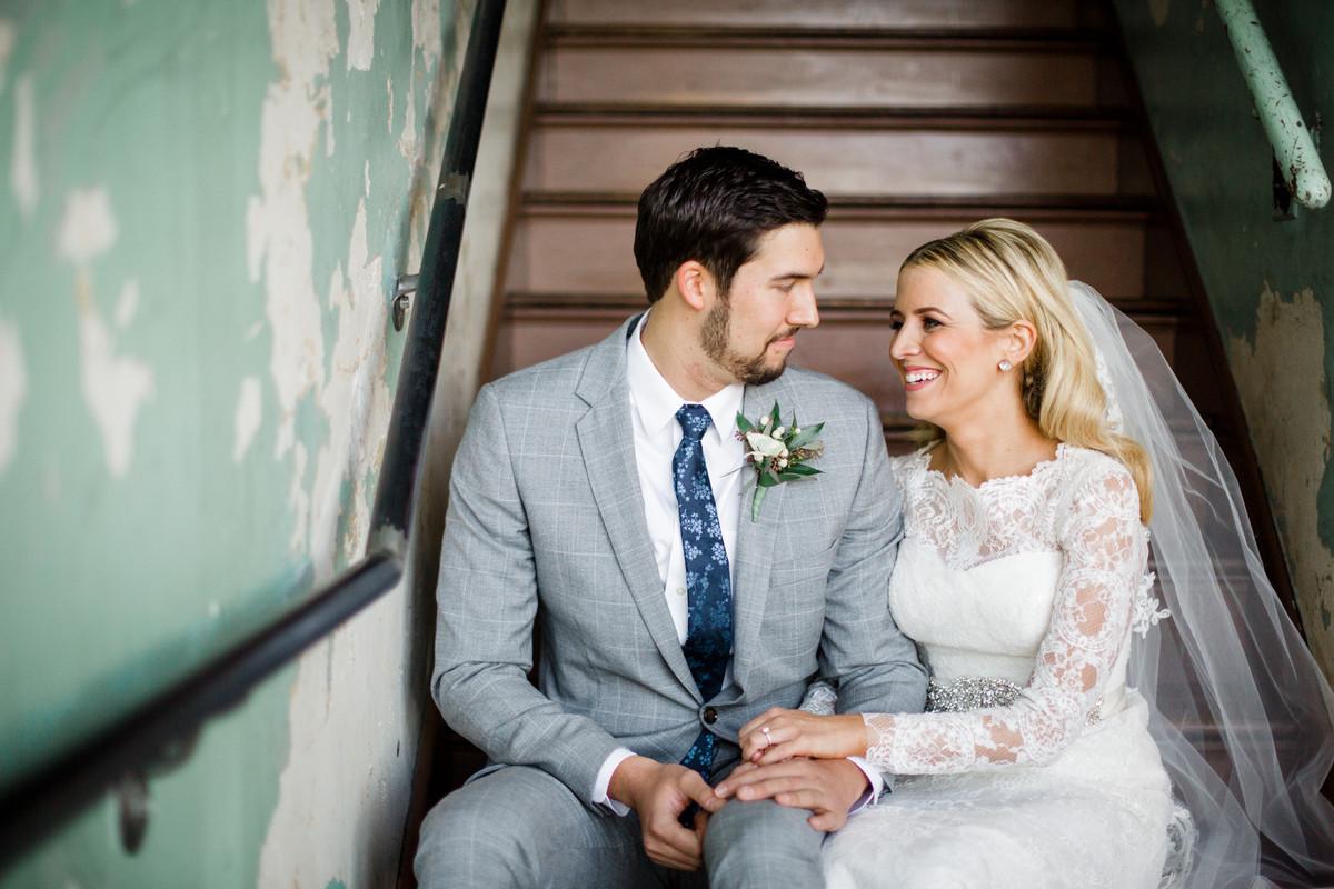 Winter Tennessee Warehouse Wedding, Wedding Real Weddings Gallery by ...