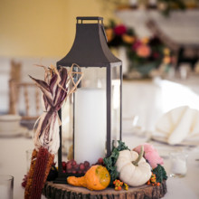 "<strong class='info-row'>Femina Photo + Design</strong> <div class='info-row description'><html>  <head></head>  <body>    Lanterns were decorated with pumpkins, berries, and decorative corn.   Venue:    <a href=""https://www.weddingwire.com/biz/dupont-country-club-and-brantwyn-estate-wilmington/4c1b5d56634cbc07.html"">Brantwyn Estate</a>  Floral Design:    <a href=""https://www.weddingwire.com/biz/a-garden-party-elmer/7f876b0ec1188a61.html"">A Garden Party</a>   </body> </html></div>"