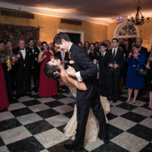 "<strong class='info-row'>Femina Photo + Design</strong> <div class='info-row description'><html>  <head></head>  <body>    The newlyweds performed their first dance to ""Hey, Soul Sister"" by Train.  Venue:    <a href=""https://www.weddingwire.com/biz/dupont-country-club-and-brantwyn-estate-wilmington/4c1b5d56634cbc07.html"">Brantwyn Estate</a>  Reception Music:    <a href=""https://www.weddingwire.com/biz/scratch-weddings-philadelphia/6035da6bea4111bc.html"">Scratch Weddings</a>  Dance Instruction: Take the Lead Dance Studio   </body> </html></div>"