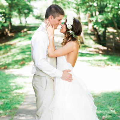400x400 sq 1487788481592 lush west virginia backyard wedding