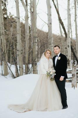 Intimate Colorado Winter Wedding Sabrina Napoleon