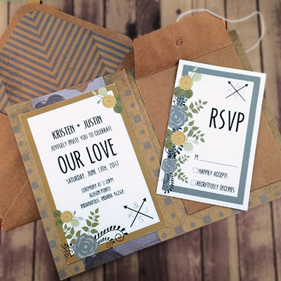 1464362456514 Retro Blue Gold2 Indianapolis wedding invitation