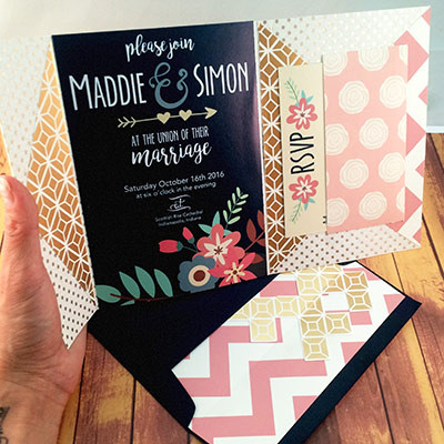 1465439420903 Navy Pink1 Indianapolis wedding invitation