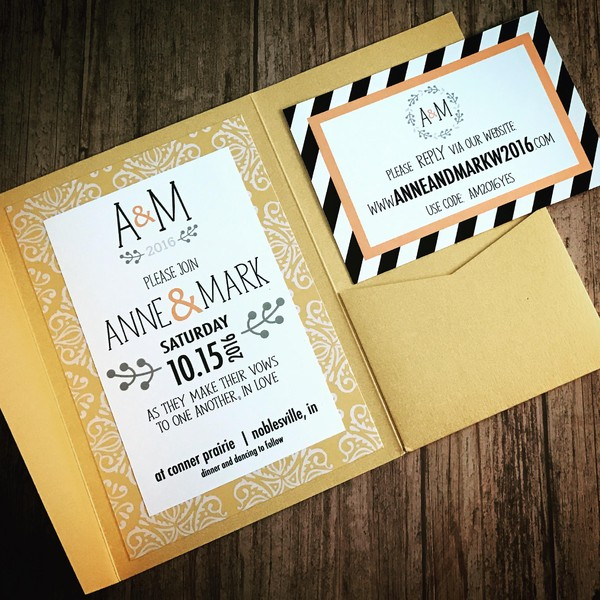 1476833661986 Navygoldmcm 2 Indianapolis wedding invitation