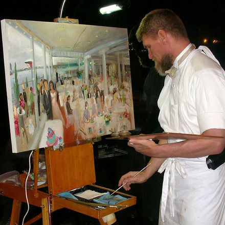 Sam Day Wedding Painter