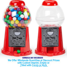 220x220 sq 1471556647308 gumball plastic candy dispenser red 2