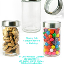 220x220 sq 1471558126067 mrjl modern round glass jar large
