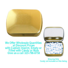 220x220 sq 1471558312116 small rectangular gold candy tin