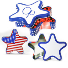 220x220 sq 1471559093657 patriotic star shape mint tin large usa flag stars