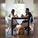 130x130 sq 1470272480 f035e6483538e75c 1470272225525 stacey and jeffrey charming in home engagement ses