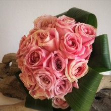 220x220 sq 1487012177833 vintage rose bouquet with collar