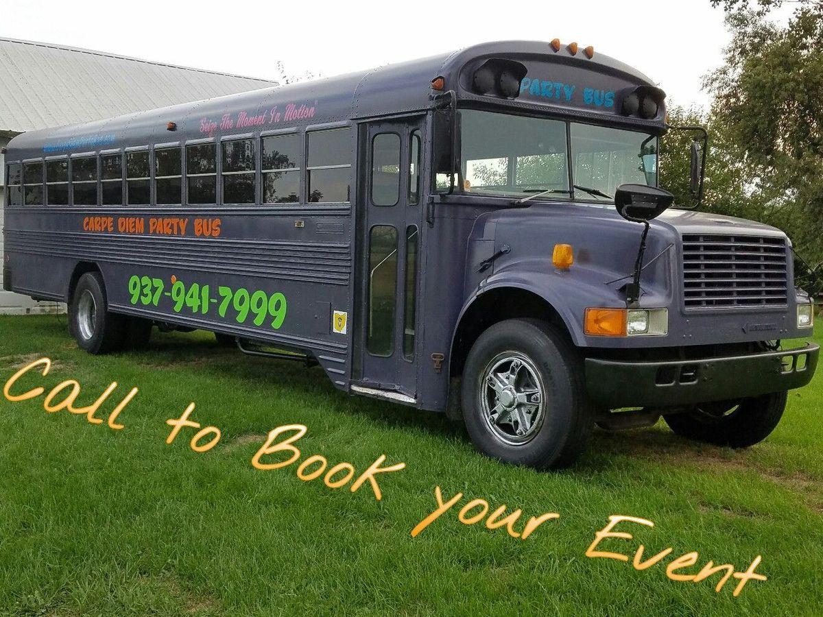 Carpe Diem Party Bus Transportation Springfield Oh