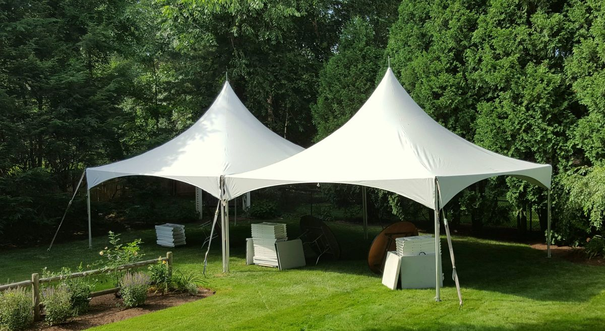 backyard tent rentals event rentals watertown ma weddingwire