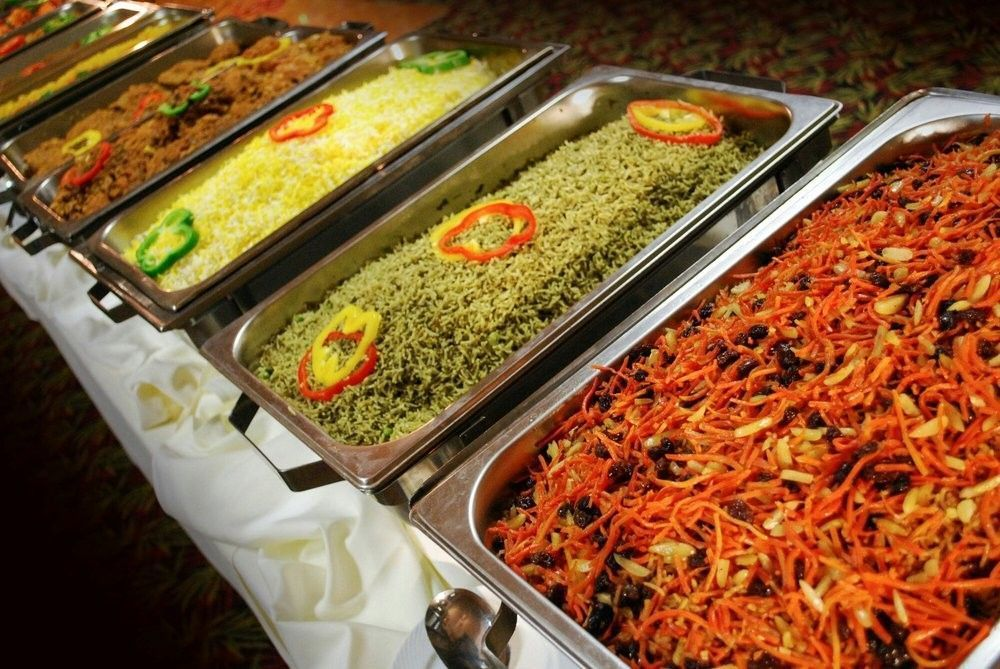Muqaddas catering catering san diego ca weddingwire for Afghan cuisine banquet hall