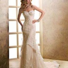 220x220 sq 1476912727 c99fe252df4c323d 1476912668697 cheap maggie sottero wedding dresses  style lavonn