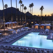 220x220 sq 1491587294626 andaz scottsdale pool night