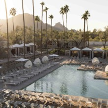 220x220 sq 1491587335047 andaz scottsdale pool sunset
