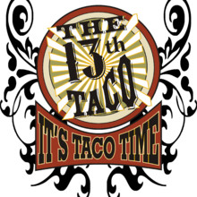 220x220 sq 1513265039906 the 13th taco shield red