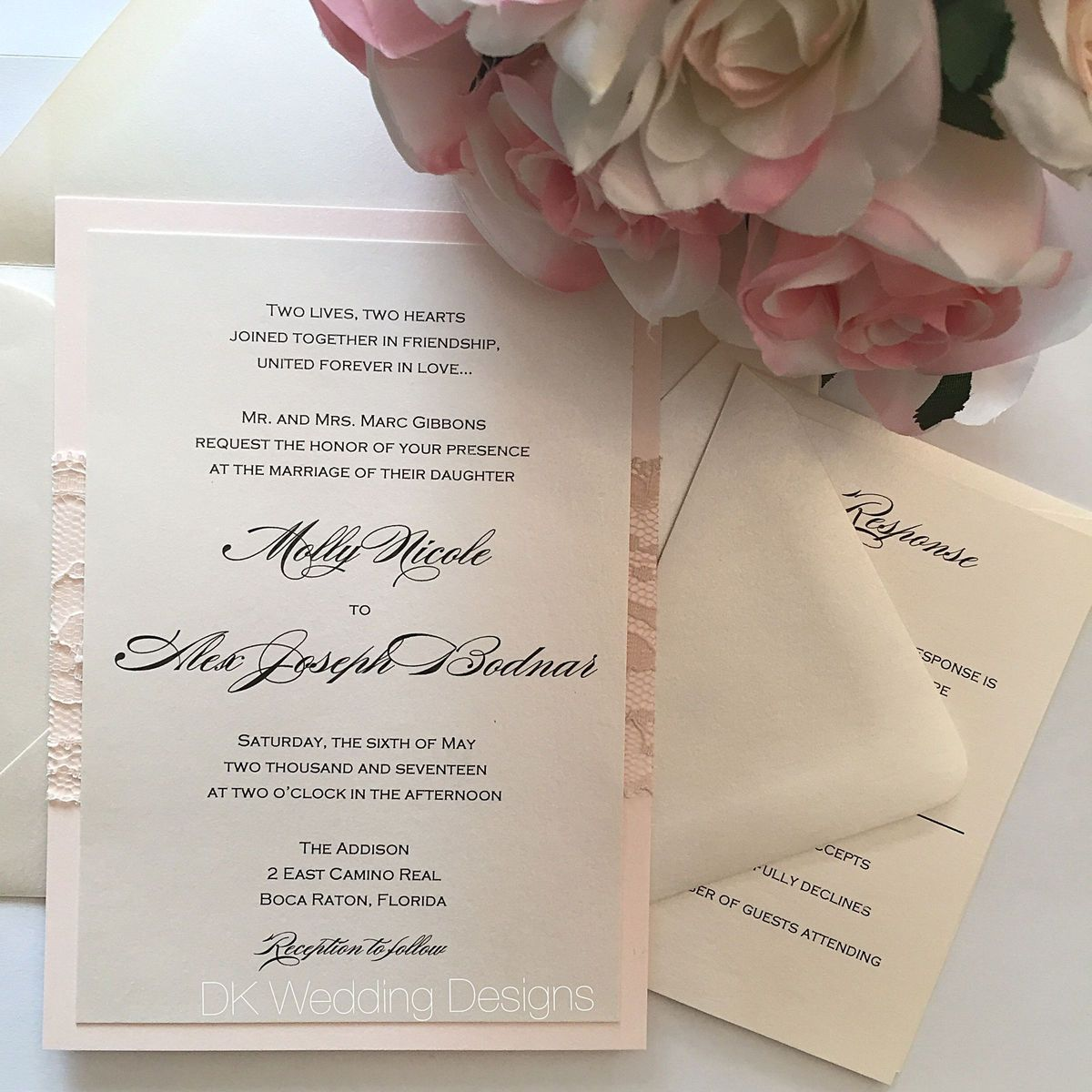 Long Island Wedding Invitations