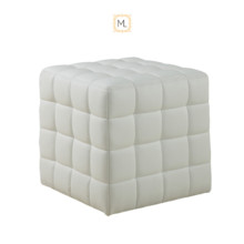 220x220 sq 1479450548559 megalux photobooth contemporary white ottoman