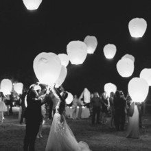 Sky Lanterns For Sale - Unique Services - Miami, FL - WeddingWire