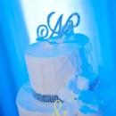 130x130 sq 1470239066849 blue uplighting wedding cake  3