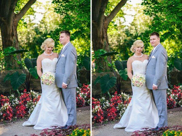 Boerner Botanical Gardens Wedding Ceremony Reception