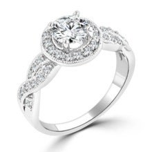 220x220 sq 1489766736030 high quality cubic zirconia engagement ring