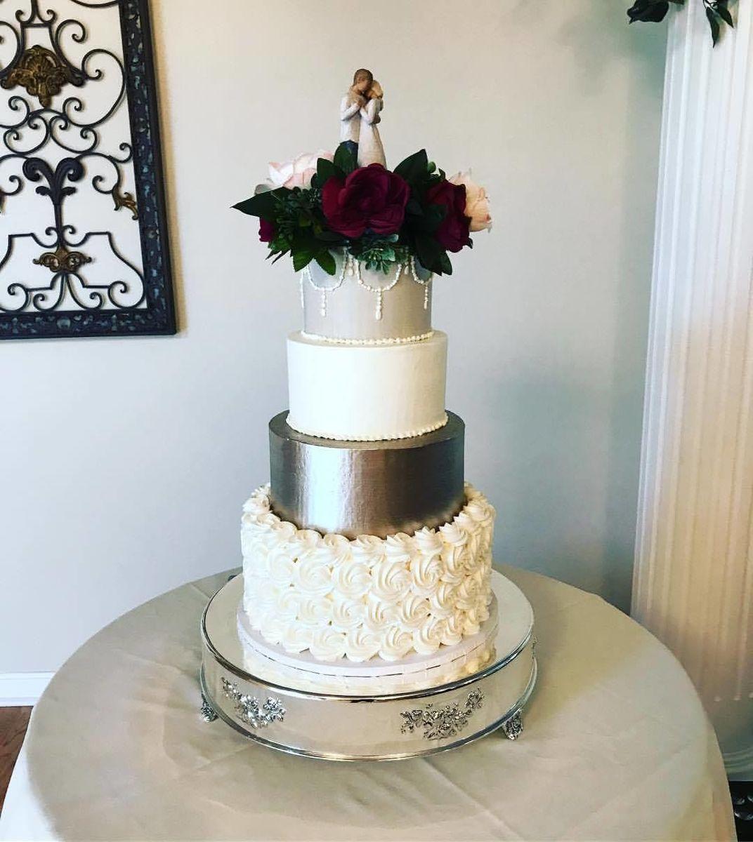 Baked - Wedding Cake - Holden, MA - WeddingWire