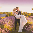 130x130 sq 1502314209 70a3b9f0c4930209 ashley grace bridal lavender farm  175