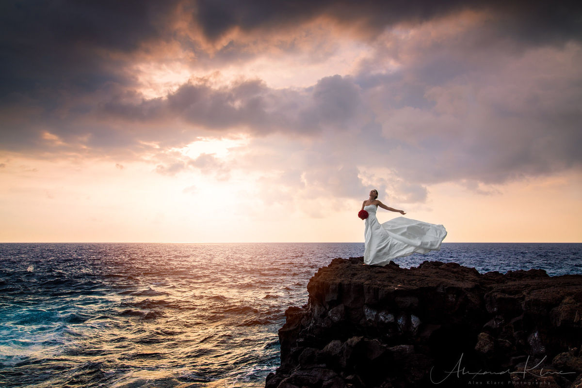 Kailua kona wedding photographers reviews for photographers alex klarc photography nvjuhfo Image collections