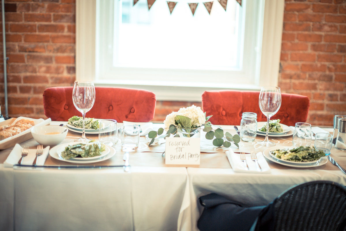 The Living Room Rehearsal Dinner Norwood Oh Weddingwire