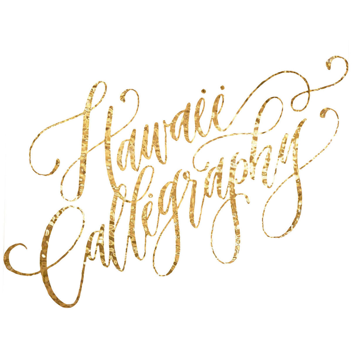 Hawaii Calligraphy Invitations Honolulu Hi Weddingwire