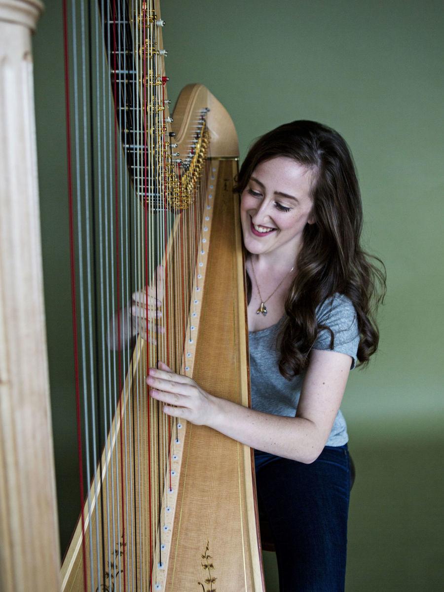 Sophie Baird Daniel Harp Ceremony Music Seattle Wa