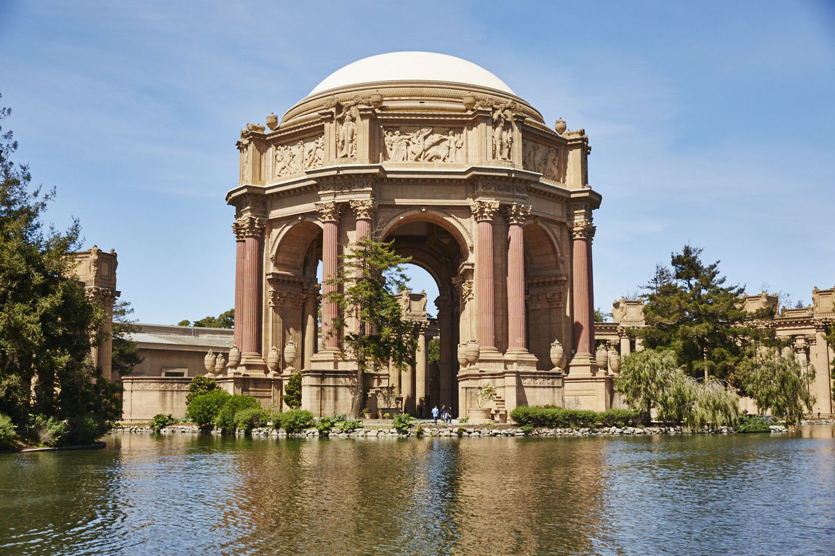 The Palace Of Fine Arts Venue San Francisco Ca