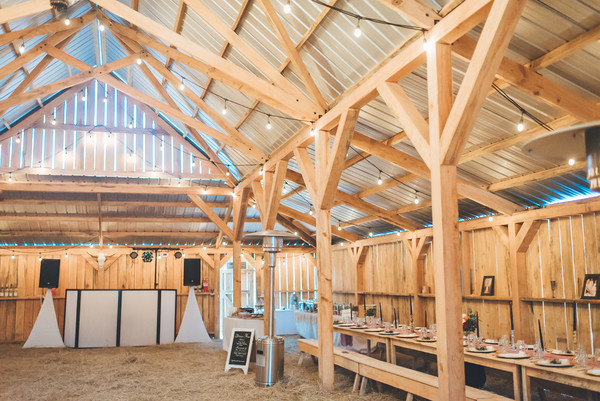 daughters barn at cedar ridge folkston ga wedding venue