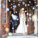 130x130 sq 1536114903 b65b37205a50cb73 cdp michigan wedding bride groom grand bubble exit