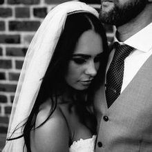 220x220 sq 1515707819 7bec803f5d70e7a7 1510108907079 black and white photo bride and groom