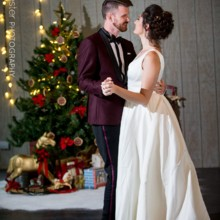 220x220 sq 1508427289721 christmas wedding