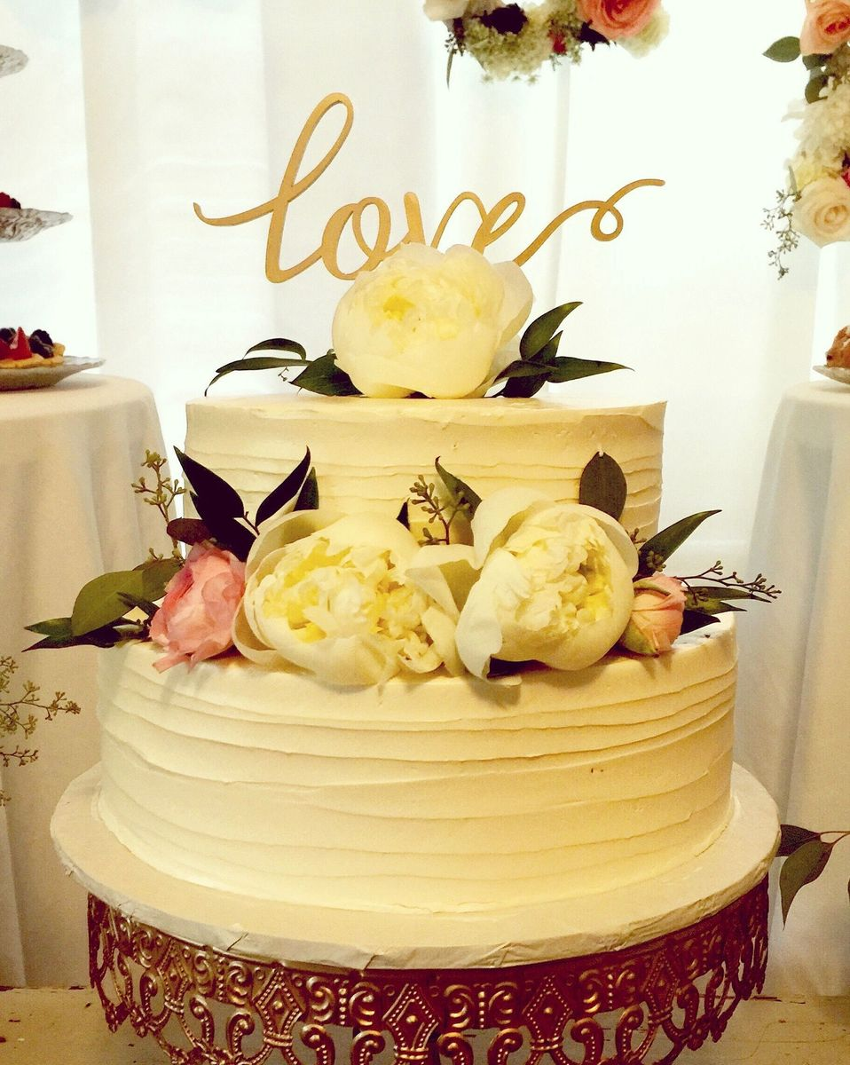 Sift & Sound - Wedding Cake - Atlanta, GA - WeddingWire