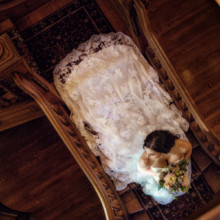 220x220 sq 1506729492102 bsm   bride on staircase from above