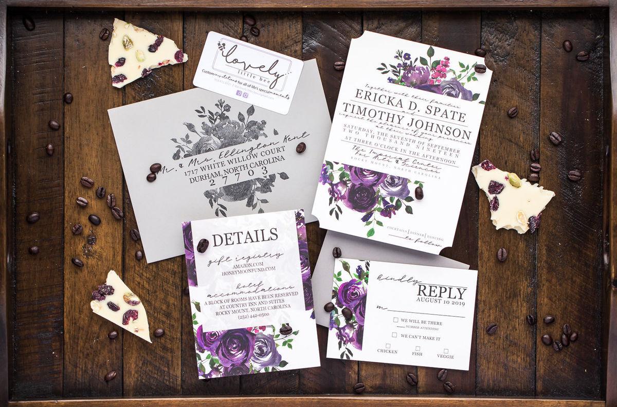 Lovely Little Bee - Invitations - Durham, NC - WeddingWire