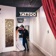 220x220 sq 1510067848815 lauren and mike savannah station wedding april 8 2