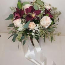 220x220 sq 1511129343993 cymbidium bouquet