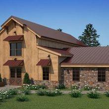 220x220 sq 1522860772 0f000ba83fd5eb75 1511992171028 ceremony barn exterior