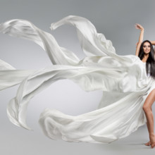 220x220 sq 1512501062112 beautiful young girl in flying white dress. flowin