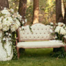 96x96 sq 1512501166862 luxury wedding decorations with bench candle and f